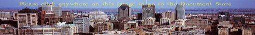 Graphic depiction of Temp Safe Transit Transport customer City skyline.