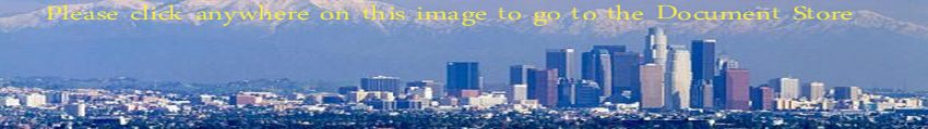 Biotechnology validation customer home city skyline photograph, this one is Los Angeles.