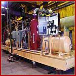 This image depicts ancillary equipment which forms the bases of all pharmaceutical engineering production and essentially must be included in equipment validation schedules.