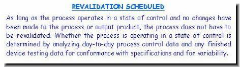 This Pharmaceutical Validation graphic depicts the documentation required for revalidation.